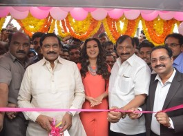 Actress Catherine Tresa launches B New Mobile Store at Kurnool.