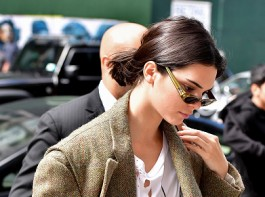 Kendall Jenner seen on the streets of Manhattan.