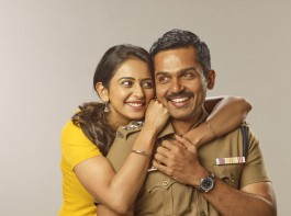 Theeran Adhigaram Ondru is an upcoming action thriller film written and directed by Sathuranga Vettai fame Vinoth and produced by S. R. Prakashbabu and S. R. Prabhu.