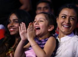 Prince Mahesh Babu's daughter Sitara at Spyder Pre Release event.