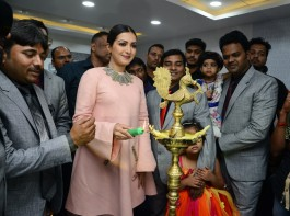 Actress Catherine Tresa launches Eledent Hosptal in Kondapur.