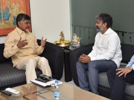 Andhra Pradesh Chief Minister N. Chandrababu Naidu has asked a British architectural firm to take inputs from well-known Telugu filmmaker S.S. Rajamouli in finalising designs for some key government buildings in upcoming state capital Amaravati.