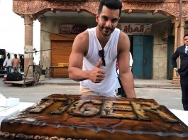Actor Angad Bedi has wrapped up his schedule for the upcoming superstar Salman Khan starrer