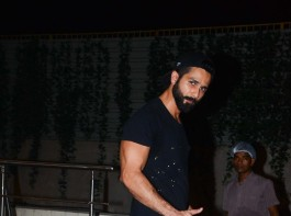 Actor Shahid Kapoor spotted after gym session.