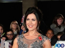 Susanna Reid attends the Pride Of Britain Awards at Grosvenor House, on October 30, 2017.