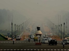 The national capital and its adjoining suburbs were blanketed in a grey haze on Wednesday morning, dipping visibility to 300 meters at some places, causing train delays and slowing down flight operations here. Some 30 trains coming to Delhi and 30 flights landing or taking off from the Delhi airport were delayed, according to officials.