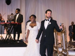 Serena Williams ties knot with long-time Reddit co-founder boyfriend Alexis Ohanian.