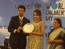 Trisha Krishnan becomes The First UNICEF Celebrity Advocate On World's Children's Day.