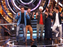The Fukrey Returns team had a gala time on the set of Bigg Boss. Salman Khan not only congratulated the team for the initial collections and outstanding word of mouth but also expressed his interest to watch 'Fukrey Returns'.