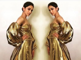Padmavati actress Deepika Padukone at Lux Golden Rose Awards 2017.