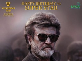 """South Indian actor Dhanush took to micro-blogging site Twitter to reveal the poster of the film by tweeting: Here you go !! The king of style ???? our Superstar's """"kaalaa"""" 2nd look. #theswagofsuperstar #kaalaa #happybirthdaythalaiva."""