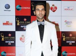 Rajkummar Rao attends Zee Cine Awards 2018 held at MMRDA Grounds in Mumbai on December 19, 2017.