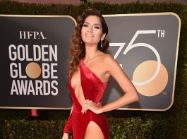 Actor Blanca Blanco attends The 75th Annual Golden Globe Awards at The Beverly Hilton Hotel on January 7, 2018 in Beverly Hills, California.