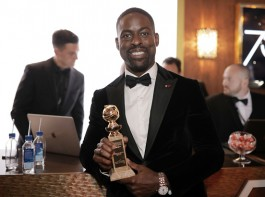 Actor Sterling K. Brown created history by becoming the first African-American male actor to win a Golden Globe for Best Actor in a Television Drama for the role of Randall Pearson in hit series