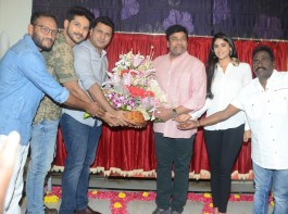 Mega Star Chiranjeevi launches Juvva's first look and Teaser in Hyderabad.