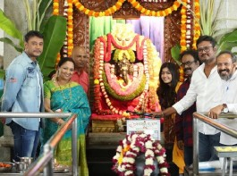 Challenging star Darshan's 51 movie launch event held in Bangalore.
