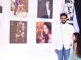 Abhishek Bachchan poses for the cameras during Dabboo Ratnani's calendar launch event at JW Marriott Hotel in Mumbai on January 17, 2018.