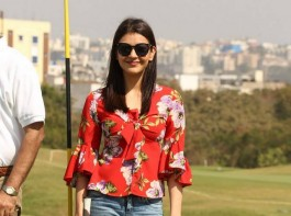 Actress Kajal Aggarwal launches 5th Biennial Cancer Crusaders Invitation Cup in Hyderabad.