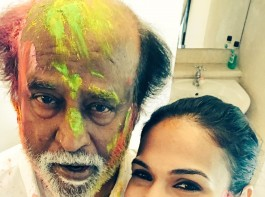 Soundarya Rajinikanth shared a picture on Twitter with the caption,