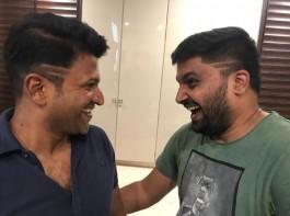 Actor Puneeth Rajkumar gets new look for Pavan Wadeyar's film.