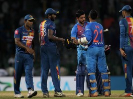 A combined effort helped India beat Sri Lanka by six wickets in the fourth match of the Nidahas Trophy Twenty20 International (T20I) cricket tri-series at the R. Premadasa International Cricket Stadium here on Monday.