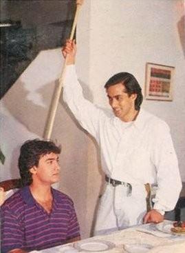 Salman Khan rare photo