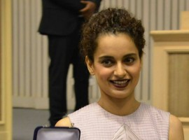 Kangana Ranaut with her National Award