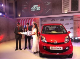 Tata Motors launches GenX Nano Car