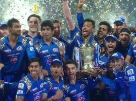 Mumbai Indians become IPL 2015 Champions