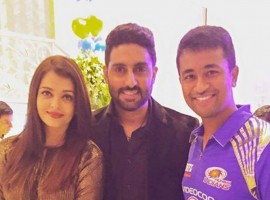 Aishwarya Rai and Abhishek attend Ambani's bash for 'Mumbai Indians' Victory