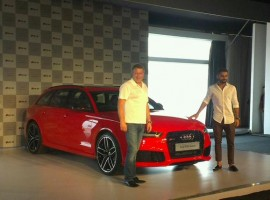 Virat Kohli Launches Audi RS6 Avant in India