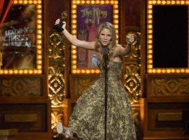 Kelli O'Hara accepts the award for Best Performance