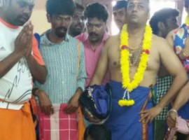 Darshan Heads to Sabarimala