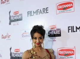 Sanjjanaa at 62nd Filmfare Awards