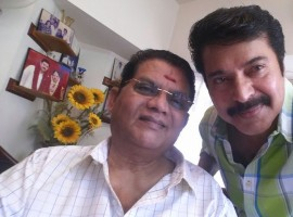 Malayalam megastar Mammootty visited Jagathy Sreekumar at his residence.