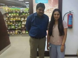 Ramya Returns to Bangalore