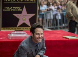 Paul Rudd honored with Hollywood Walk of Fame star