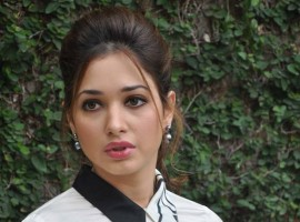 Tamannaah Promotes Baahubali Movie in Hyderabad