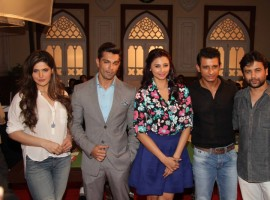 Actors Zarine Khan, Karan Singh Grover, Daisy Shah, Sharman Joshi