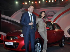 Kangna Ranaut unveils Nissan Micra X-Shift Car
