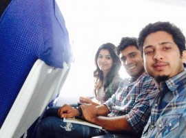 Selfie Moments of 'Premam' Team