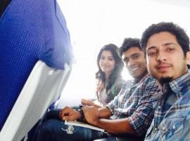 Selfie Moments of 'Premam' Team