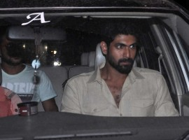 Rana Daggubati at Baahubali Special Screening