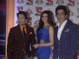 Sushmita Sen and Sonu Sood at Sab Ke Anokhe Awards 2015