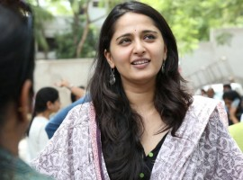 Anushka Shetty at Baahubali Success Meet