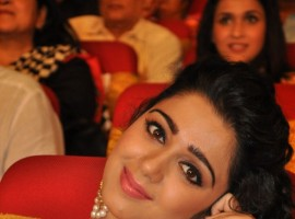 South Indian Actress Charmi Kaur at TV9 National Film Awards.
