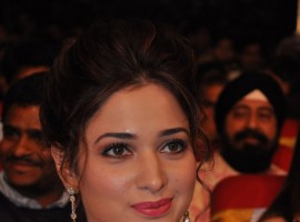 South Indian Actress Tamannaah at TV9 National Film Awards.