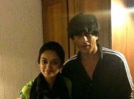 Malayalam actress Gautami Nair recently met the Badshah of Bollywood, Shah Rukh Khan.