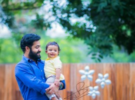 Jr NTR's Son Abhay Ram turns one on Wednesday, 22 July 2015.