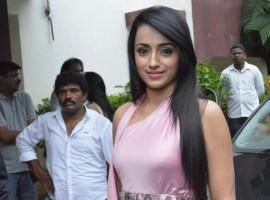 South Indian Actress Trisha Latest Pics.